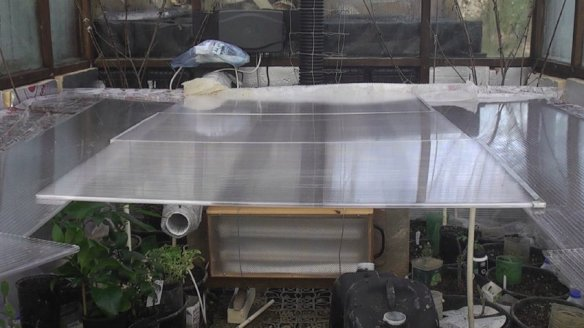 Heating a Greenhouse With Compost: Pt 3