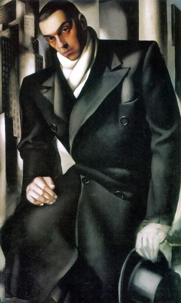 lempika unkown man portrait